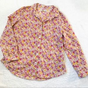 Old Navy | Floral Button Down Shirt